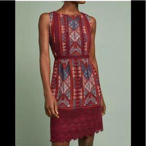 Anthropologie Akemi +Kin Beaumier Shift Dress 10